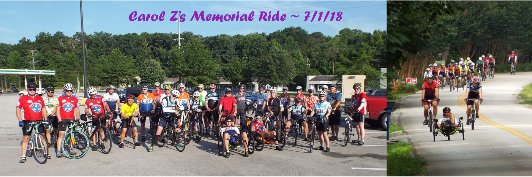 Slider for CBC home page – Carol Z Memorial Ride